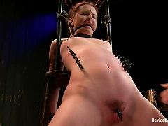 Hot Teen With S Gets Bonded And Toyed Deep